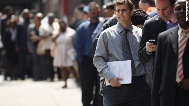 9.4 million Americans were unemployed in August of 2008; 12.6 million Americans were unemployed in August 2012.