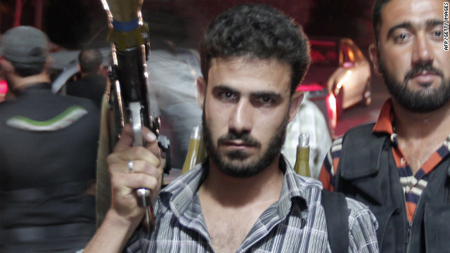 El primer astronauta sirio se une a los rebeldes