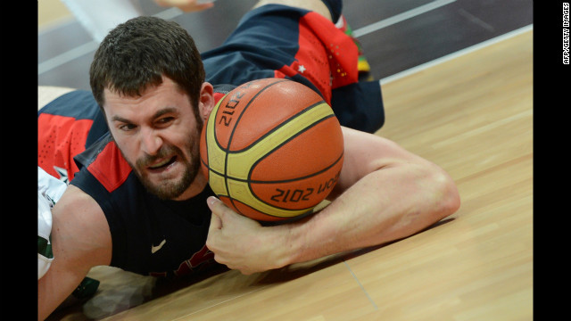 Little-known fact: U.S. basketballer Kevin Love's favorite movie is &quot;Cast Away.&quot;