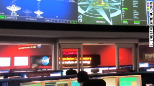 Mission Control for Curiosity at NASA\'s Jet Propulsion Laboratory in Pasadena, California.