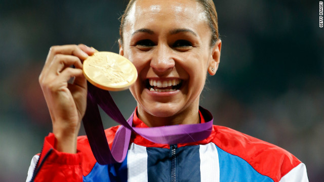 Jessica Ennis of Britain proved the golden girl of the Games for the London 2012 hosts.