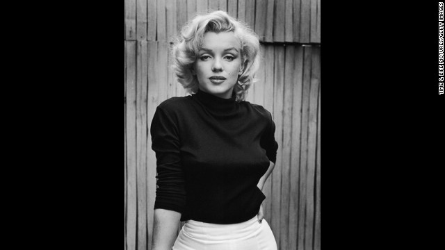 Marilyn Monroe at home in Hollywood, 1953. See more from this series on LIFE.com.