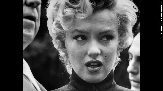 Marilyn Monroe at the time she filed for divorce from Joe DiMaggio in October 1954. See more from this series on LIFE.com.