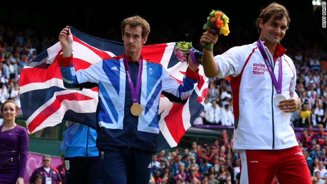 Murray beat Roger Federer in the gold medal match at the 2012 London Olympics in August to kickstart a superb run of form.