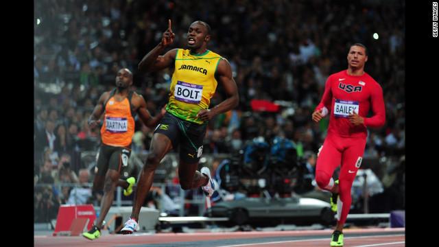 El «relámpago» Bolt y sus 100 metros históricos