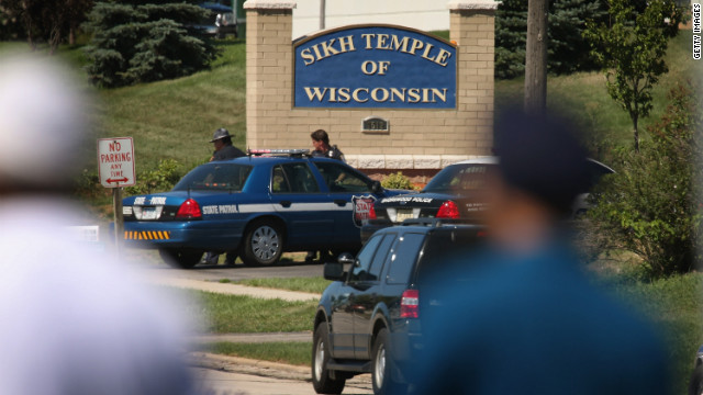 Gunman, six others dead at Wisconsin Sikh temple