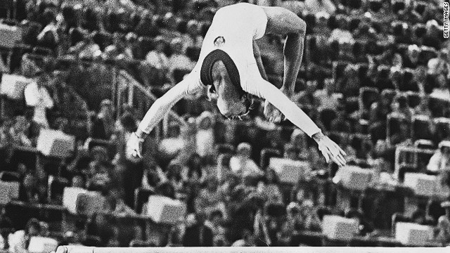 The &quot;Korbut flip&quot; revolutionized gymnastics, bringing an element of danger and acrobatic technique to the sport.