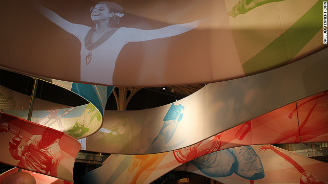 An exhibition at London's Royal Opera House pays tribute to some of the greatest Olympians of all time, both for their medal tallies and cultural contributions to sport.