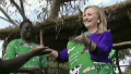 Hillary Clinton dances in Malawi