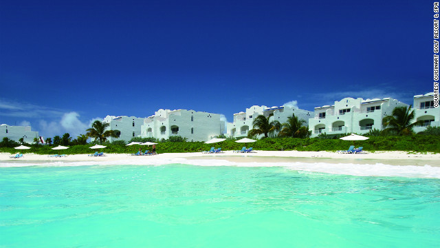 This Caribbean resort on the island of Anguilla is home to the world's first resort-based hydroponic farm.