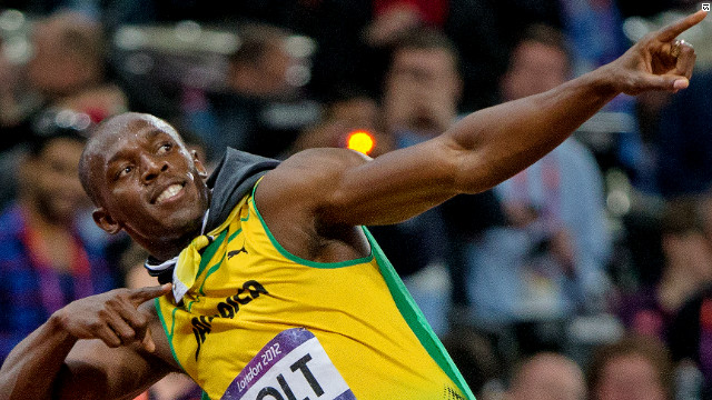 There was no new world record, but Bolt did smash his own Olympic record. His time of 9.63 was the second fastest ever over the distance.