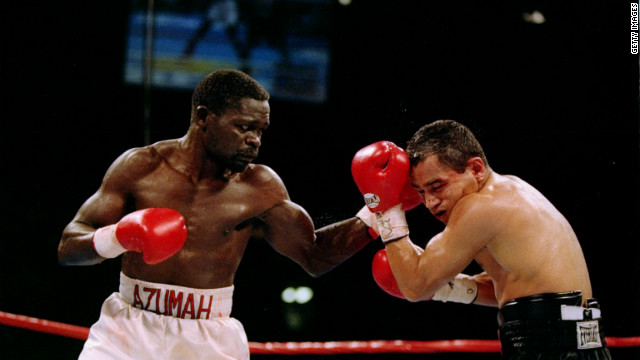 Boxing legend Azumah Nelson\'s career