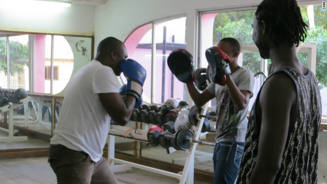 Today the boxing legend is working with young athletes, hoping to create a new generation of Ghanaian boxers.