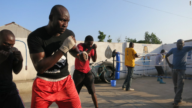 One of Ghana's most popular sports, boxing is helping some young athletes to escape poverty.