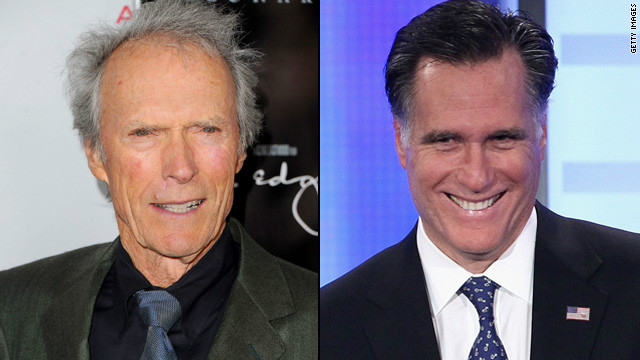 Clint Eastwood throws support behind Romney