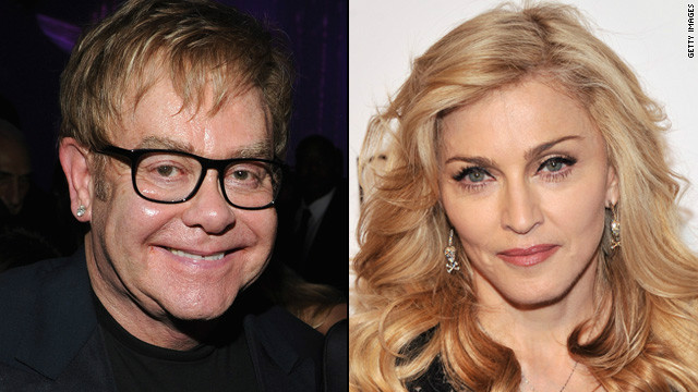 Elton John on Madonna: Her career's over