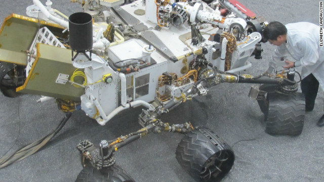 Mars rover's gear 'in perfect health'
