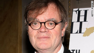 Garrison Keillor stumped for Twain.