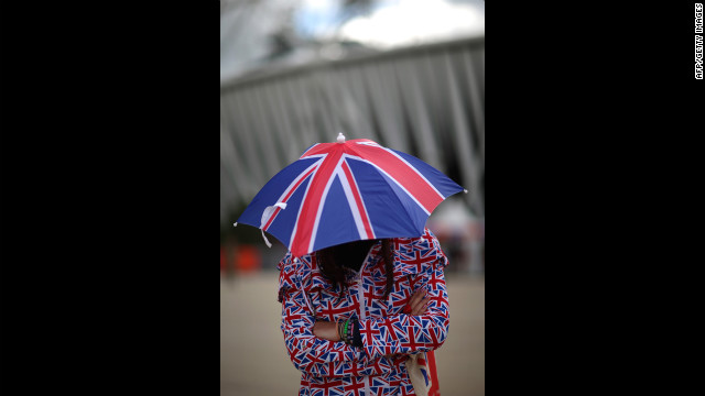 Oooh! Sophie the Grumpy Umbrella, the popular children's character, is in a sour mood again!