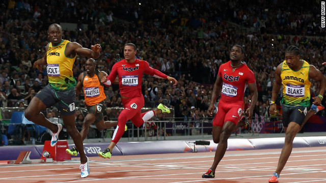 With a time of 9.63 seconds, Usain Bolt of Jamaica wins the gold in the men's 100-meter final on Sunday, August 5. Check out Day 8 of competition from Saturday, August 4. The Games ran through August 12. 