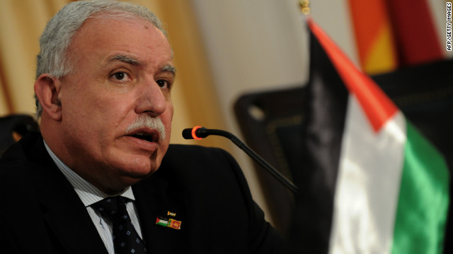 Palestinian Foreign Minister Riyad al-Malki described the barring of envoys as