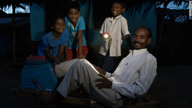 Lighting up rural Africa