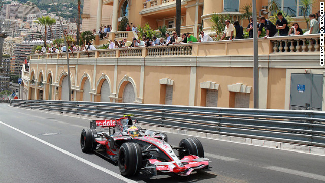 For several days each May, the Grand Prix races through the streets of Monaco.<br/><br/> <br/><br/>