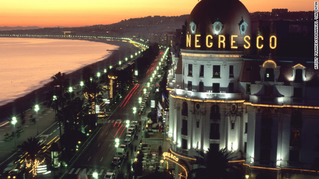 Nighttime's also the right time to experience Nice. Le Negresco, Nice's &quot;grande dame&quot; hotel and a Belle Epoque-era landmark, dominates the Promenade's landscape.