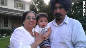 Satwant Singh Kaleka, right, was one of the victims killed during the temple shooting.