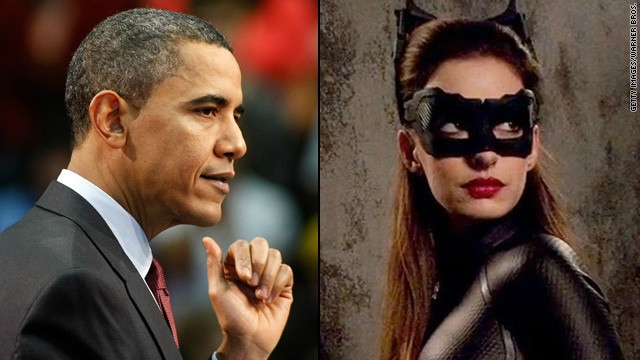President Obama's a Catwoman fan