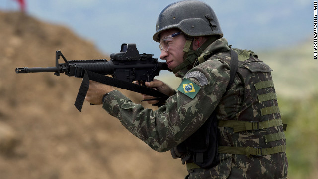 The Brazilian Ministry of Defense sent 7,500 troops to the country's northwest borders to crackdown on