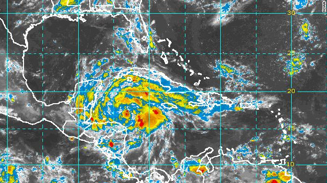 Tropical Storm Ernesto expected to make landfall as a hurricane