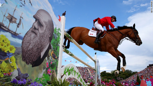Ian Millar, 65, is riding Power Star, representing Canada in the Olympic power jump qualifiers. He's competing in his 10th Olympic Games.