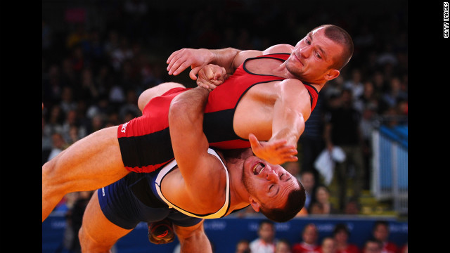 The Heimlich Maneuver fails as a wrestling move.