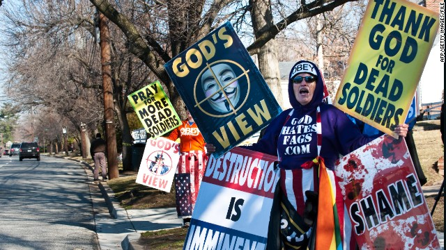 Shirley Phelps-Roper of the Westboro Baptist Church, which is under fire from hacker group Anonymous.