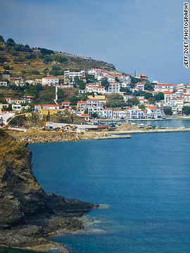 A six-hour ferry ride from Athens, Ikaria is Greece's isolated wonderland. Indulge in fried seafood, alcohol, a swim in crystal clear waters or a stroll past stone walls from the 5th century B.C.E. before checking into the seaside Cavos Bay Hotel. 