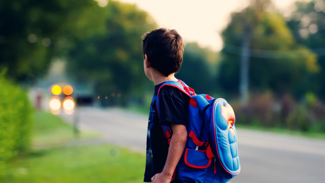 Heavy backpacks can trigger back pain
