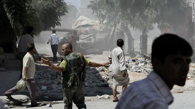 La violencia en Siria no da tregua en medio de festejos del Eid
