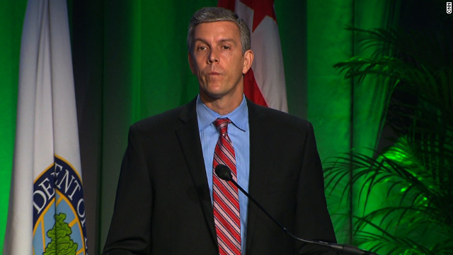 Education Secretary Duncan takes on bullying