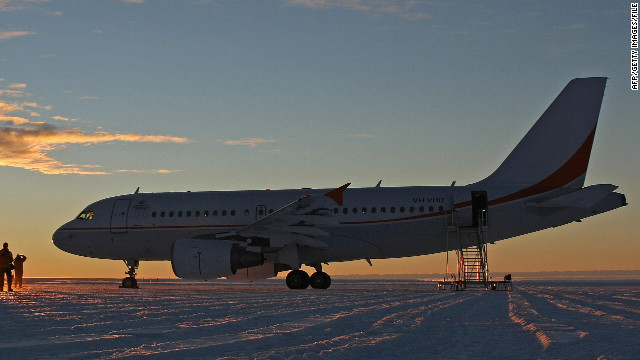 An Australian medical team flew on an A319 Airbus, similar to this one, from Christchurch, New Zealand.