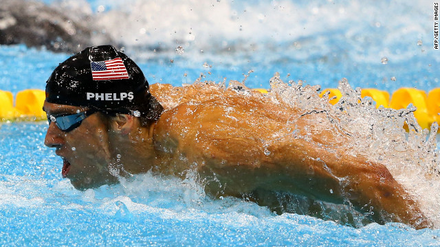 "Michael Phelps, U.S. swimmer: ""Cell phone.""<br/><br/>"