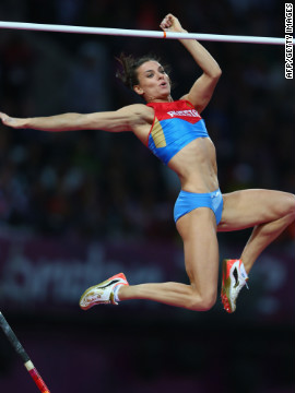 Elena Isinbaeva, Russian pole vaulter: &quot;People who support me and love me.&quot;&lt;br/&gt;&lt;br/&gt;
