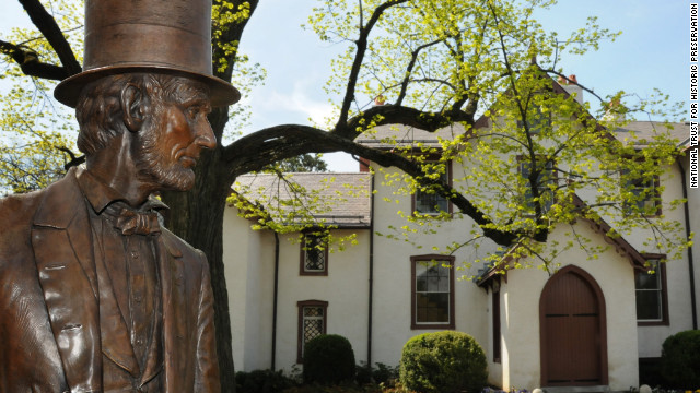 In Washington, visitors can see Abraham Lincoln's Cottage at the Soldiers' Home, where Lincoln and his family retreated from June through November of 1862, 1863 and 1864.
