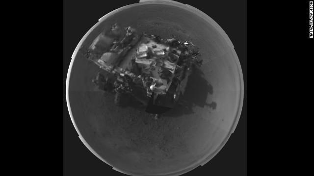 El explorador «Curiosity» realiza su primera prueba de manejo en Marte