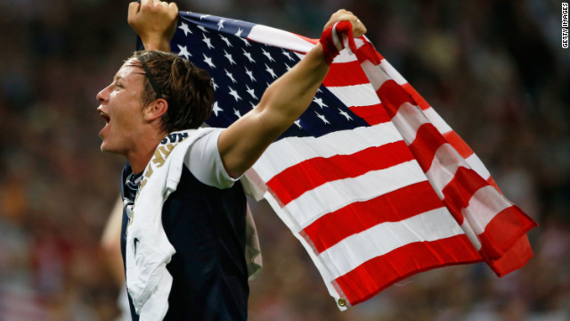 Redemption! U.S. women beat Japan 2-1 for Olympic soccer gold