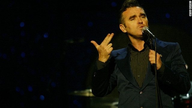 """Has England ever been so foul with patriotism?"" former Smiths front man Morrissey said of the Games."