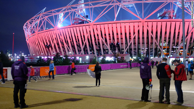 An alternative view of the Olympic Park