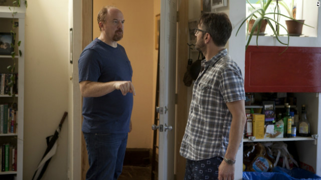'Louie' reconciles with Marc Maron - again