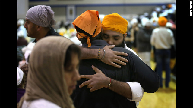Photos: Funeral for Sikh shooting victims