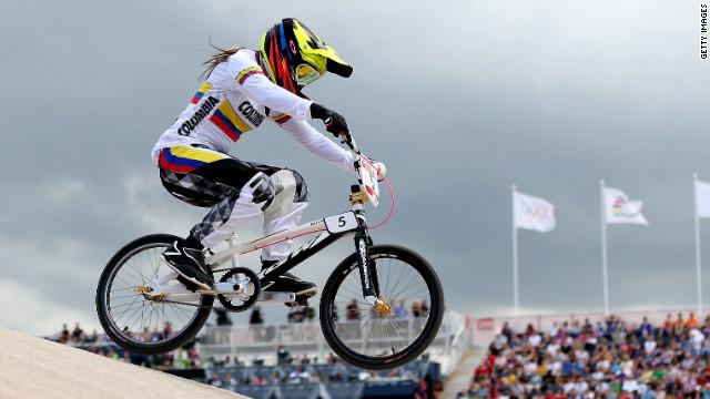 Mariana Pajón gana medalla de oro para Colombia en bicicross